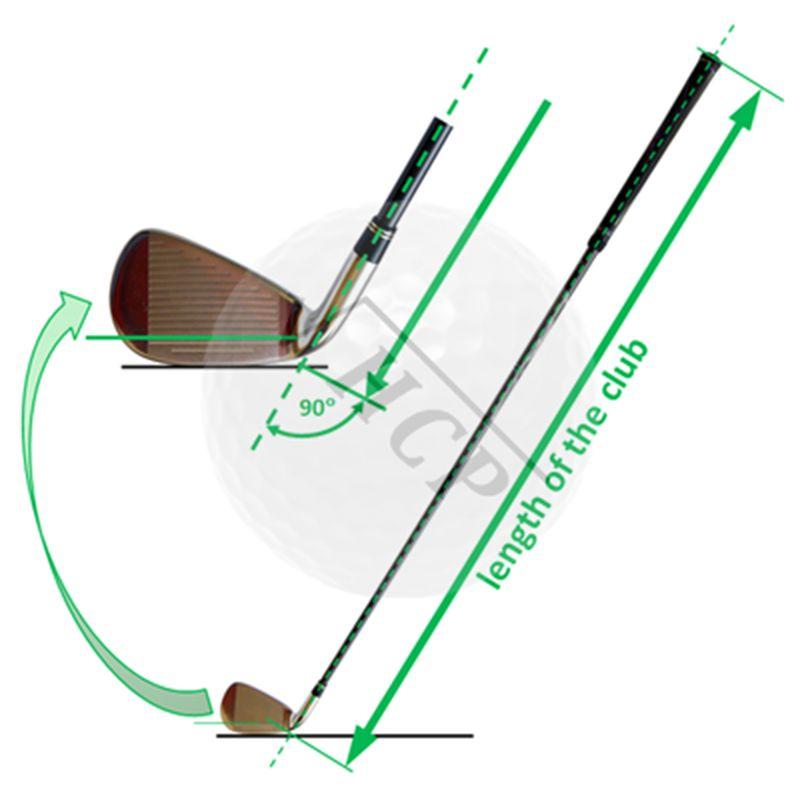 Chiều dài cây gậy sắt 5 là 38 inch