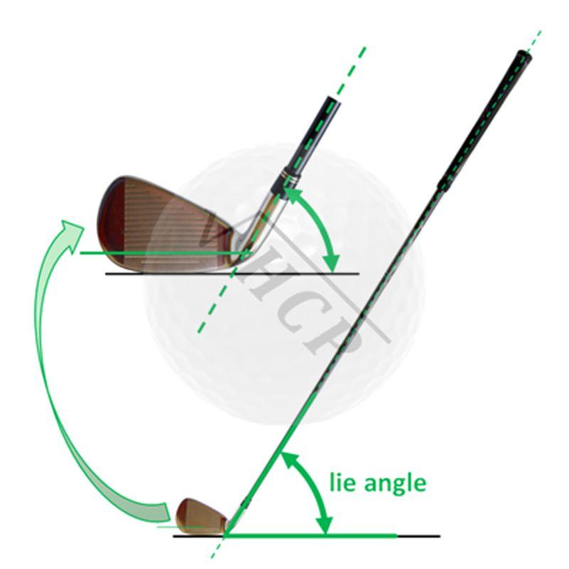 Góc giữa của cán gậy và mặt đế của gậy