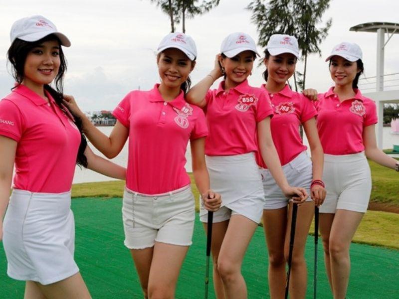 Trang phục golf mùa hè cho nữ