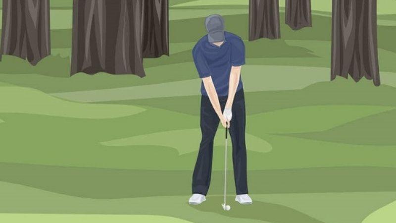 Tư thế đánh golf chuẩn như thế nào