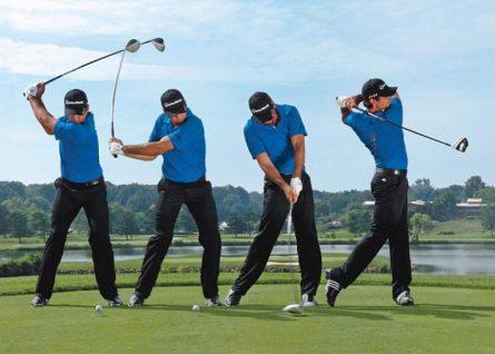 Tư thế setup trong golf chuẩn