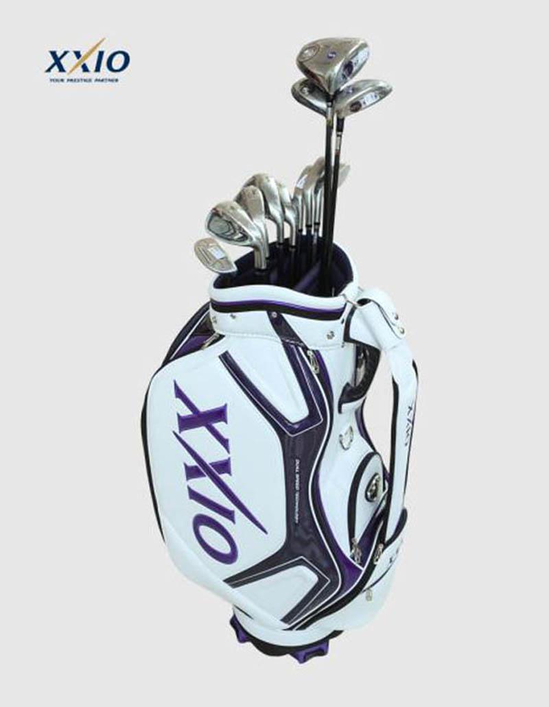 Túi golf XXIO 9.5″ Replica Cart Bag GGC-1485I mang màu sắc trang nhã, hiện đại