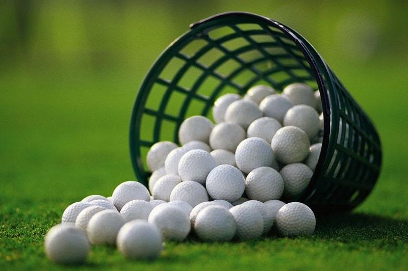Bóng golf đã qua sử dụng được dùng khá nhiều