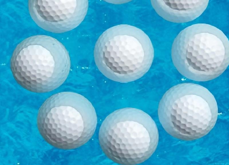 Mẫu sản phẩm yêu thích của golf thủ với ưu điểm nổi được trên mặt nước và có độ đàn hồi cao