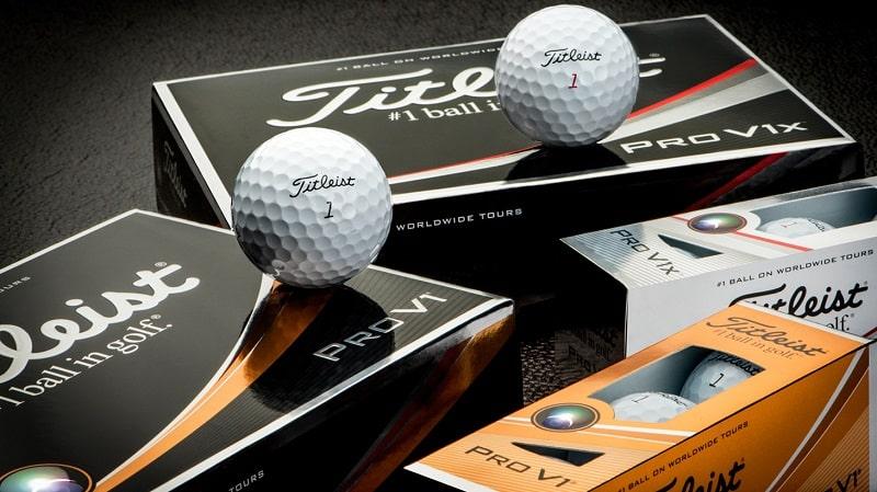 Bóng golf Titleist đáp ứng được sự ổn định khi đánh bóng