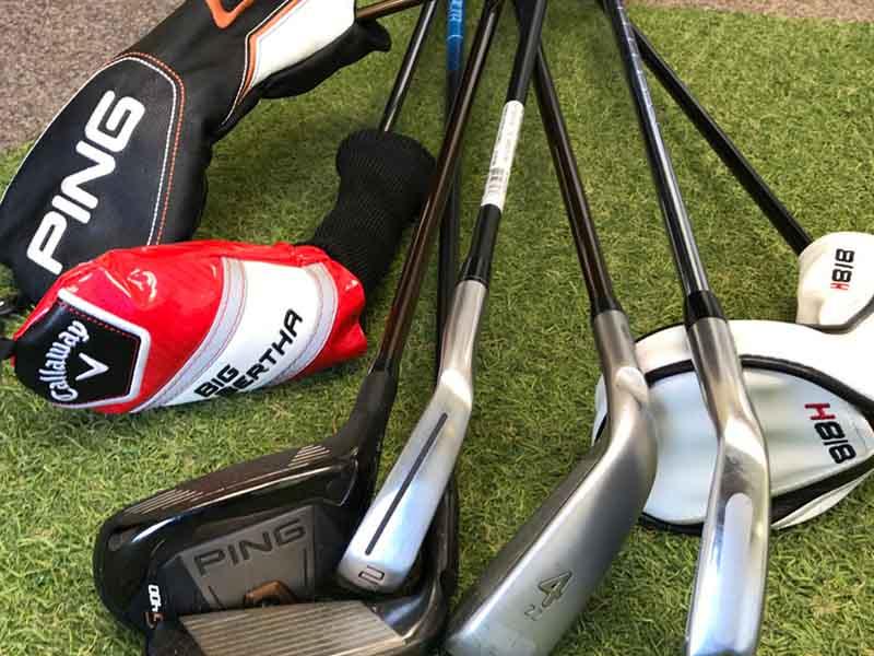 Gậy golf Hybrid giúp golf thủ thực hiện các cú đánh tiếp cận vùng green