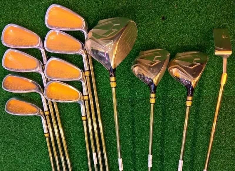 Bộ gậy golf one minute Grand Prix đơn giản nhưng tinh tế cho các tay chơi mới