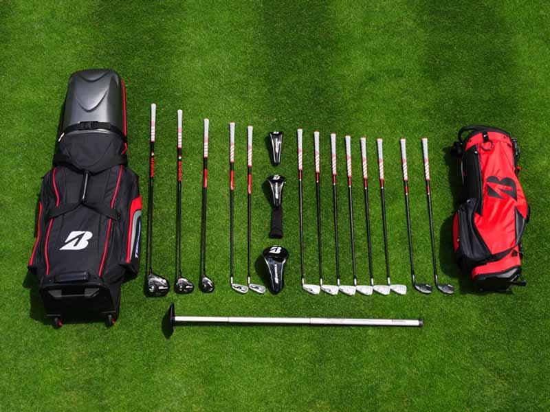 Bộ gậy golf fullset bao gồm từ 12 tới 14 cây gậy