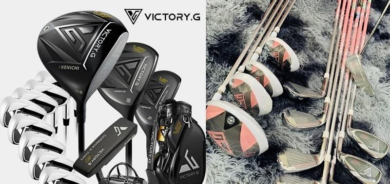 Bộ gậy golf Kenichi với kiểu dáng và thiết kế đẹp mắt