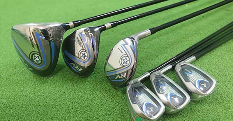 Thay vì mua đồ mới, người chơi có thể sử dụng gậy golf Mizuno RV5 cũ