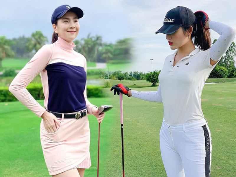 Nữ giới nên chọn quần áo có độ thấm hút và co giãn tốt khi ra sân