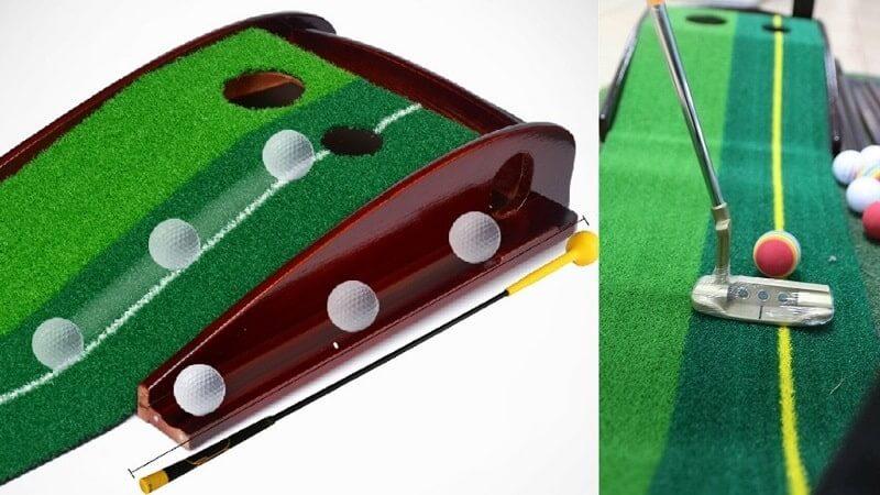 Thảm golf được nhiều người lựa chọn cho việc tập luyện tại nhà