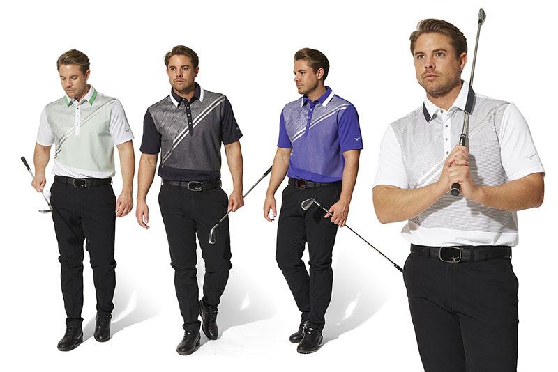 Áo golf Mizuno kiểu dáng đẹp mắt