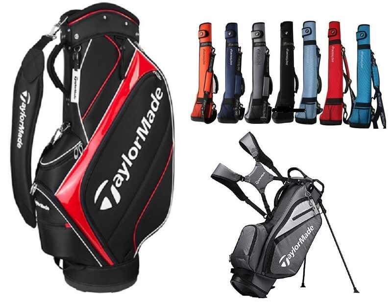 Túi đựng golf Taylormade đa dạng cả về màu sắc cũng như mẫu mã thiết kế