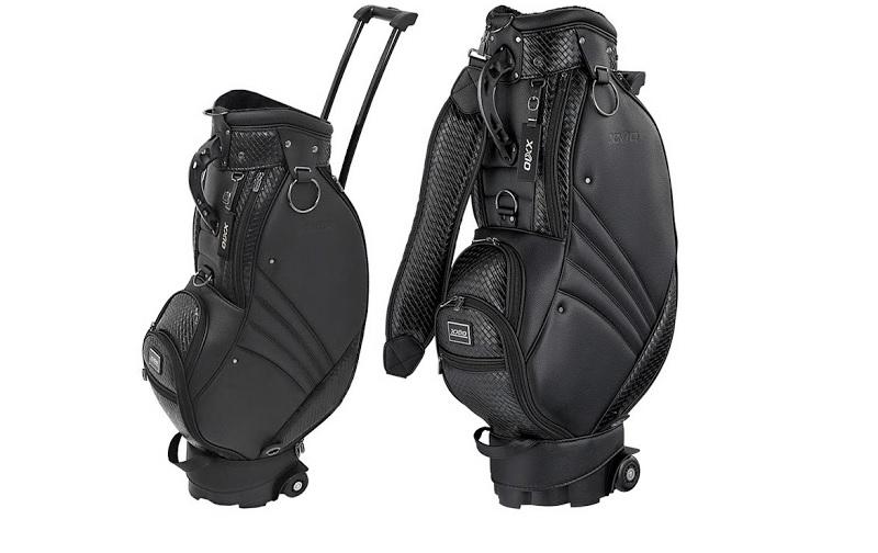 Túi golf hàng không với thiết kế tay kéo và bánh trượt thuận tiện cho di chuyển xa