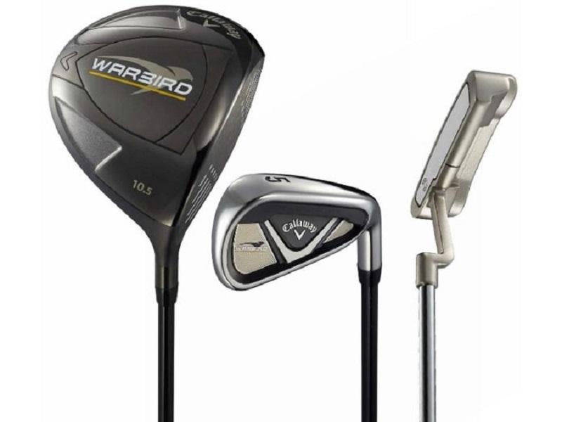 Fullset gậy golf Callaway Warbird luôn nhận được sự ưu ái lớn từ khách hàng
