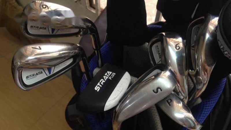 Bộ gậy Strata luôn khẳng định sự mạnh mẽ, dứt khoát trong cú đánh của golfer