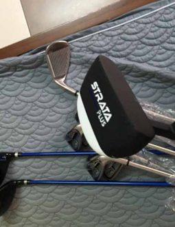 Bộ gậy Strata kèm bao che đầu tiện lợi, bền bỉ