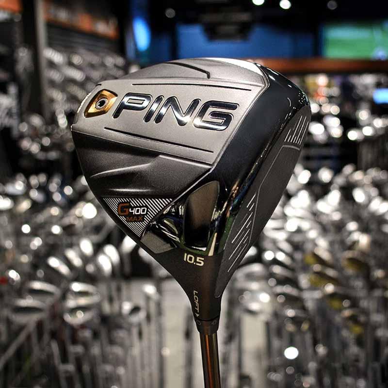 Ping G400 Max được thiết kế đa vật liệu