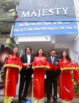 Lễ ký kết hợp tác giữa Majesty và Công ty Cổ phần Phân phối dụng cụ thể thao TL