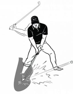 Luật golf trong bẫy nước - những điểm cần chú ý