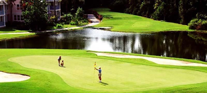 Luật golf bẫy nước có sửa đổi một số điểm so với luật cũ, người chơi nên lưu ý để tránh mất điểm đáng tiếc