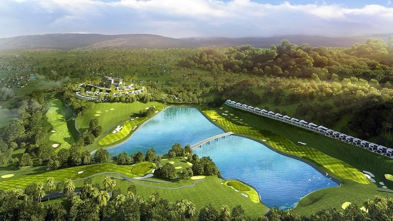 Sân golf Yên Dũng là một nơi có tọa độ vàng