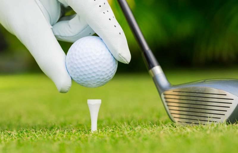 Tee golf là dụng cụ quan trọng giúp cố định bóng khi thực hiện cú đánh