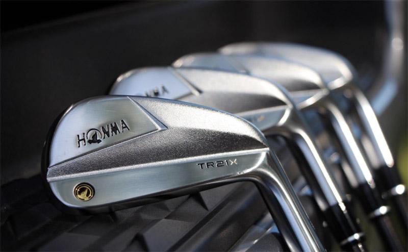 Bộ gậy sắt Honma TR21 X có thể mang tới tốc độ bóng nhanh hơn