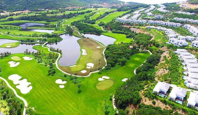 Toàn cảnh sân golf Vinpearl Hải Phòng