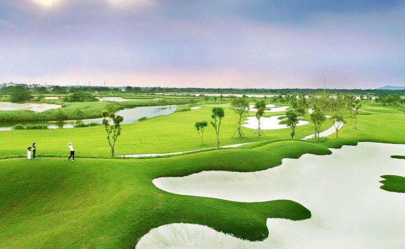 Một góc sân golf
