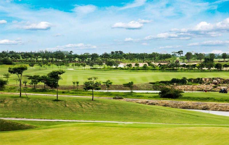 Sân golf Harmonie là sân golf hàng đầu tại Việt Nam