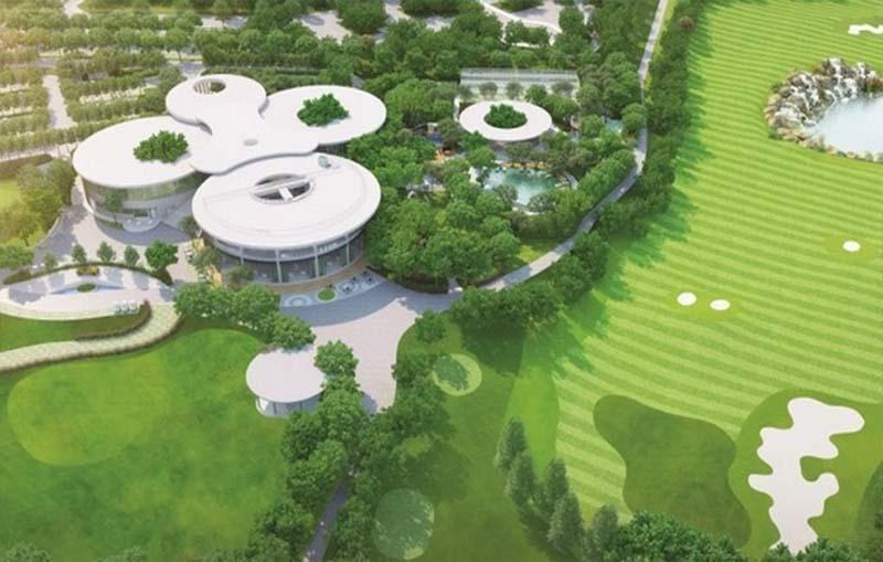 Sân golf Harmonie là một trong hai sân golf nằm đối diện nhau nổi tiếng tại tỉnh Bình Dương