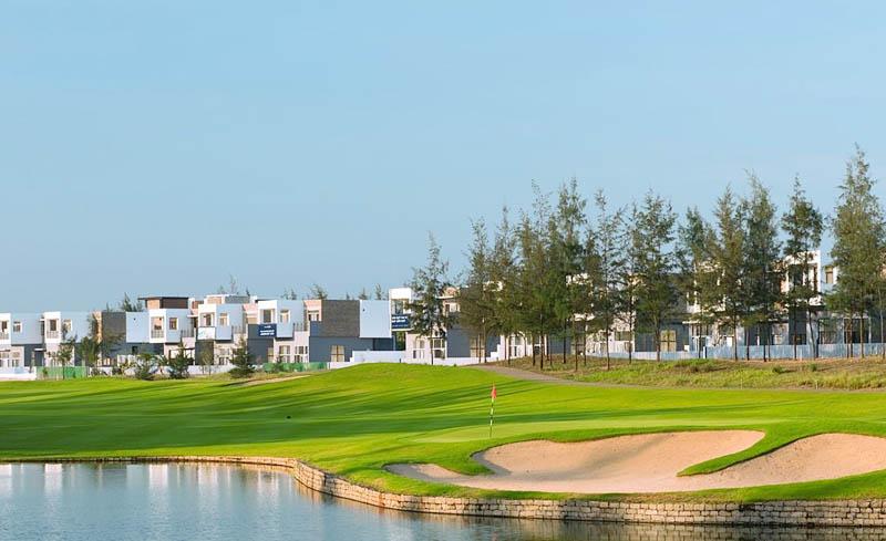 Khu resort tại sân golf Montgomerie Links Quảng Nam