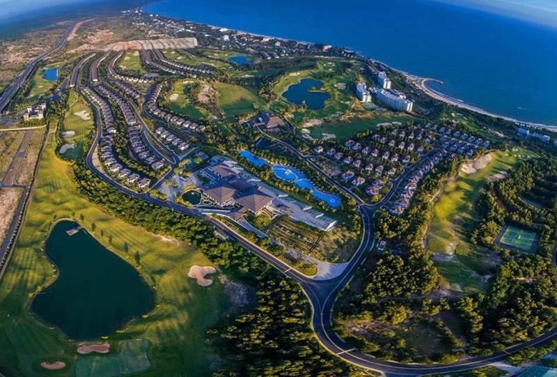Toàn cảnh sân golf Sealink