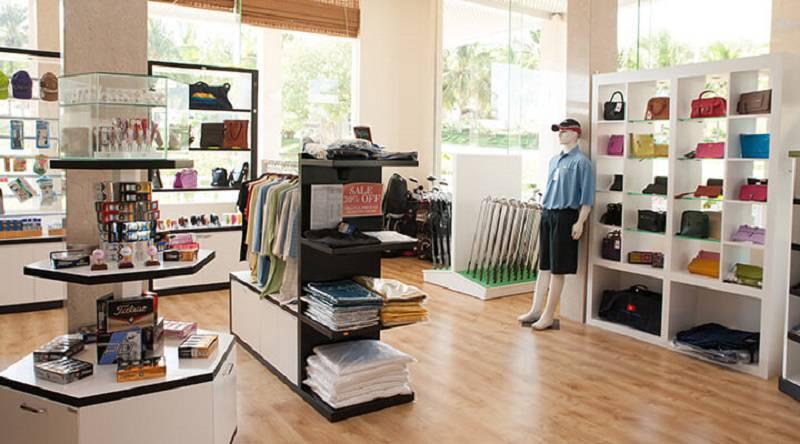 Pro Shop trong quẩn thể sân golf