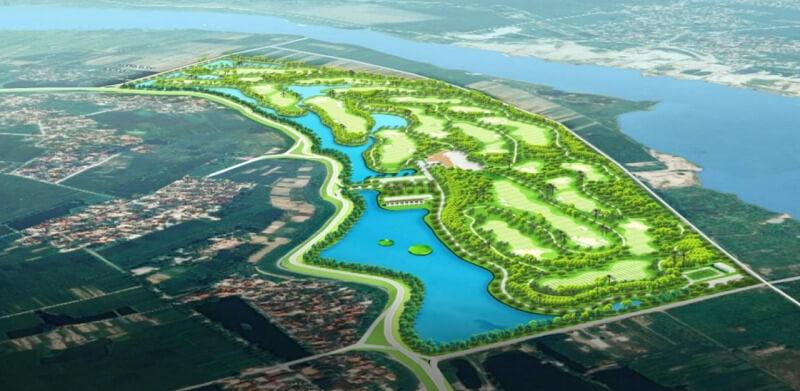 Dự án sân golf Bắc Ninh với thiết kế 27 lỗ