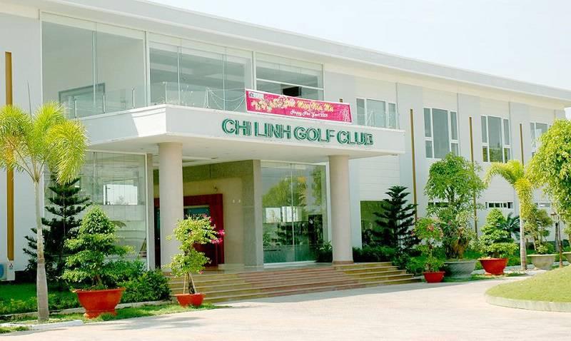Sảnh tiếp đón khách của sân golf Chí Linh - Vũng Tàu