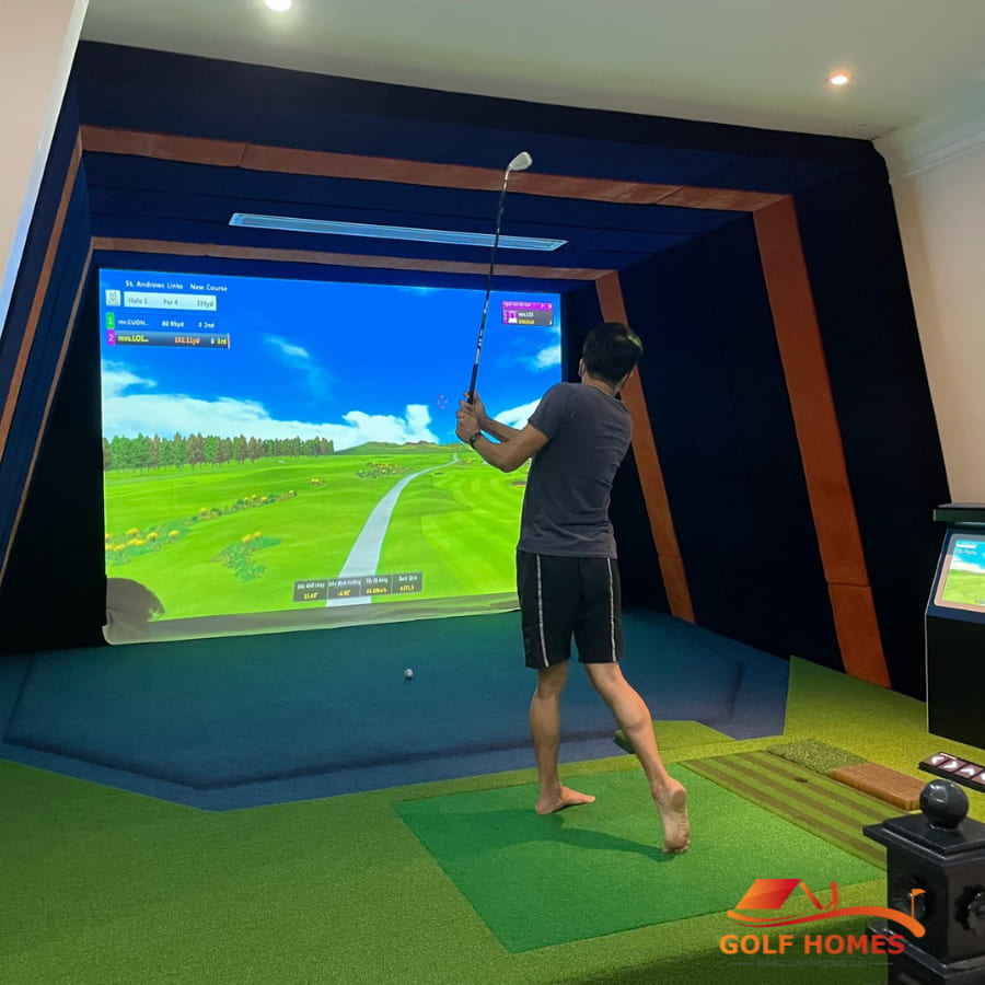 Hệ thống 3D sẽ giúp quan sát và mô phỏng lại động tác và từng cú swing