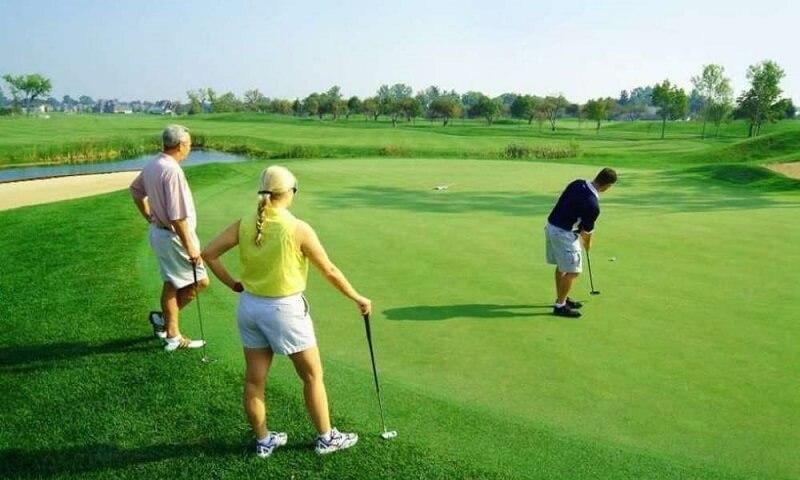 Golfer nên đánh thử gậy để kiểm tra tính phù hợp