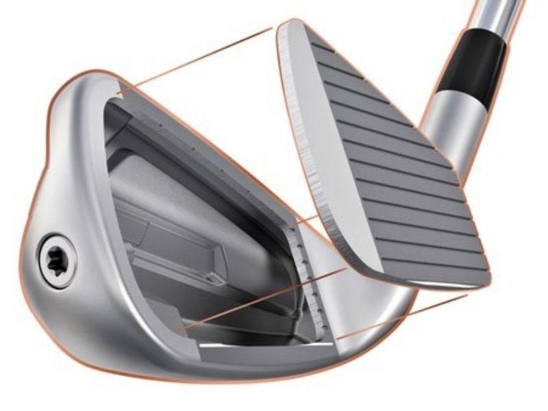 Gậy golf Ping G700 có thiết kế mặt và đầu gậy khá đặc biệt so với các phiên bản trước đó