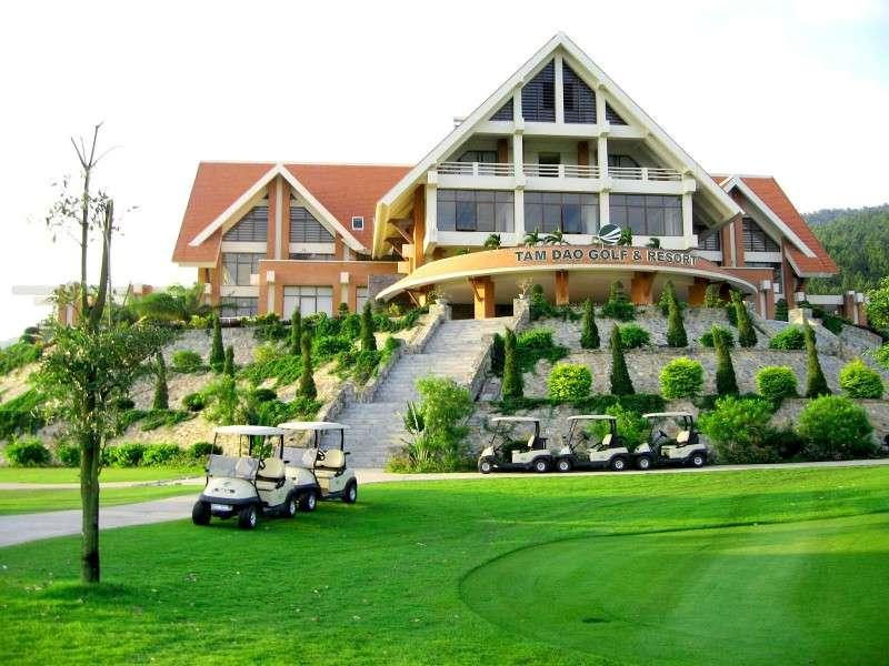 Tam Đảo Golf & Resort chắc chắn sẽ đáp ứng được mọi mong đợi của golfer