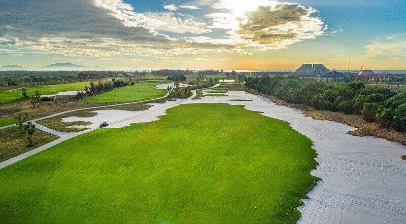 Dịch vụ tại sân golf hoạt động theo tiêu chuẩn hàng đầu châu Á