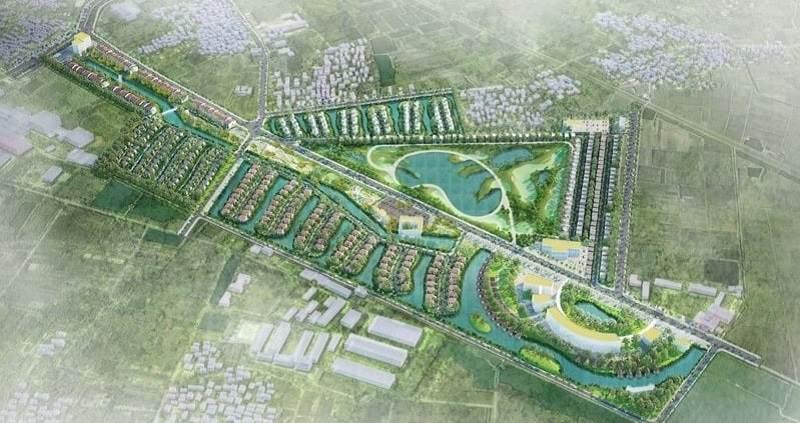 Dự án sân golf Vân Tảo được xây dựng tại địa phận huyện Thường Tín (Hà Nội)