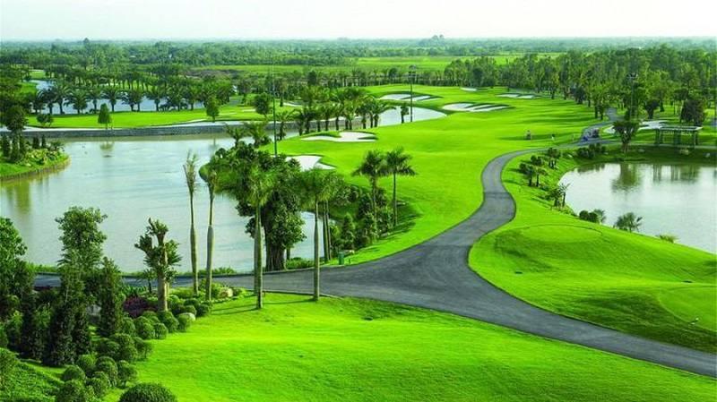 Dự án khu du lịch sinh thái và sân đánh golf có tổng diện tích là 66,09 ha