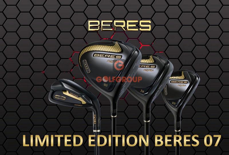 Honma New Beres 07 3 sao Black Limited Edition 2021 gây ấn tượng mạnh với golfer