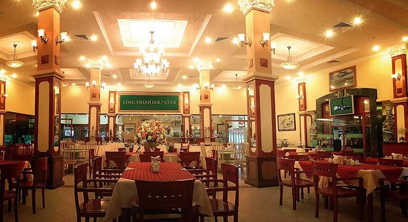 Phong cách nhà hàng ở Long Thành Golf Resort