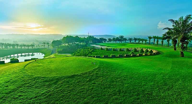 Sân golf Biên Hòa - Long Thành Golf Resort ở tỉnh Đồng Nai