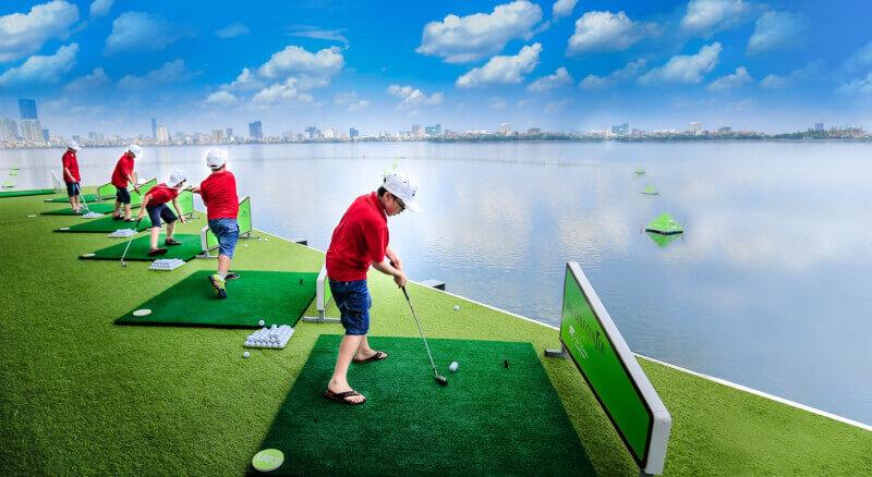 BRG Golf Center được đặt tại khách sạn Thắng Lợi – Victory