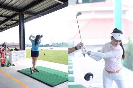 Sân tập golf được nhiều người yêu thích